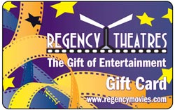 Regency Theatres gift card