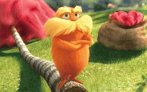 IMAGE FROM Dr. Seuss' The Lorax in 3D