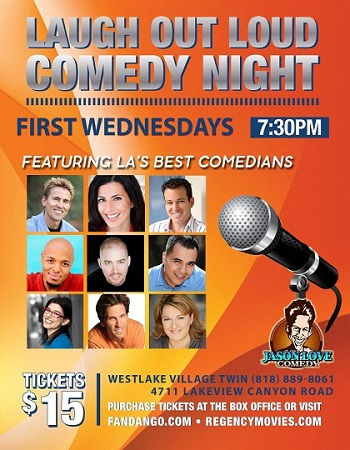 Laugh Out Loud Comedy Night at the Westlake Village Twin!
