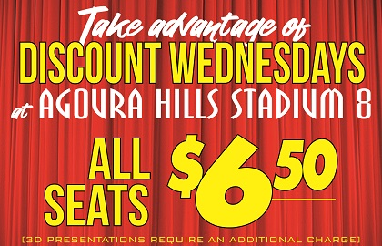 DISCOUNT WEDNESDAYS
