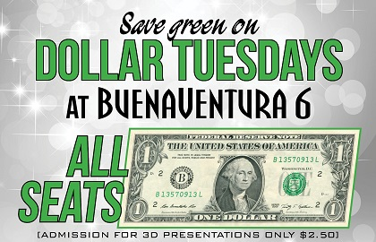 $1 Tuesdays!