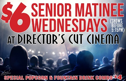 Wednesday Senior Matinee
