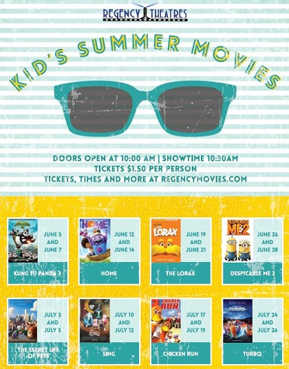 KIDS SUMMER MOVIE SERIES!
