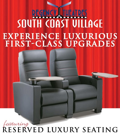 Now Featuring Reserved Luxury Seating!