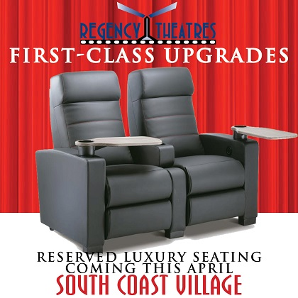 UPGRADED SEATS COMING SOON!