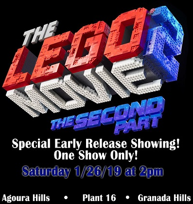 Special Early Release Showing!