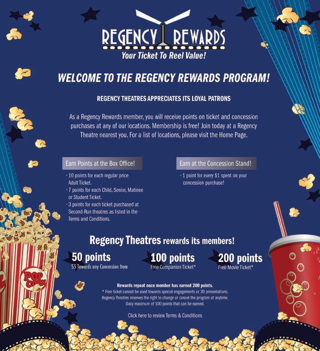 regency rewards program