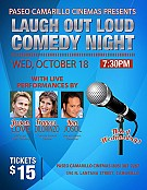 IMAGE FROM Laugh Out Loud Comedy Night at Camarillo