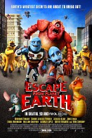 movie poster for Escape from Planet Earth