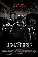 movie poster for The 15:17 to Paris