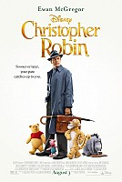 movie poster for Christopher Robin