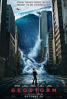 movie poster for Geostorm