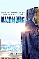 movie poster for Mamma Mia! Here We Go Again