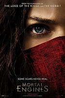 movie poster for Mortal Engines