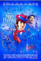 movie poster for Mary Poppins Returns