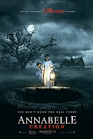movie poster for Annabelle: Creation