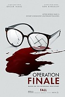 movie poster for Operation Finale