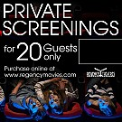 movie poster for Private Party Screening for 20 People