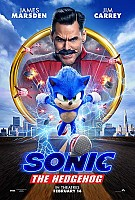 movie poster for Sonic the Hedgehog