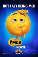 movie poster for The Emoji Movie