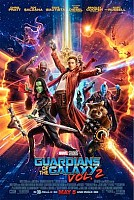 movie poster for Guardians Of The Galaxy Vol. 2