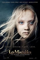 movie poster for Les Miserables