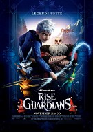 movie poster for Rise of the Guardians 3D