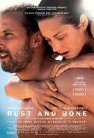 movie poster for Rust and Bone