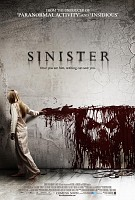 movie poster for Sinister
