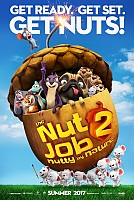 movie poster for The Nut Job 2: Nutty by Nature