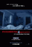 movie poster for Paranormal Activity 4