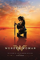 movie poster for Wonder Woman