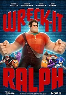 movie poster for Wreck-it Ralph
